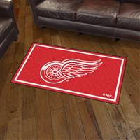 "NHL - Detroit Red Wings 3x5 Rug 36""x 60"""