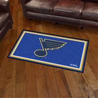 "NHL - St. Louis Blues 3x5 Rug 36""x 60"""