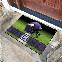 "NFL - Minnesota Vikings Crumb Rubber Door Mat 18""x30"""