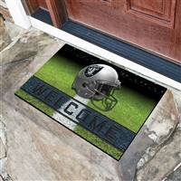 "NFL - Las Vegas Raiders Crumb Rubber Door Mat 18""x30"""