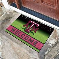 "Texas A&M University Crumb Rubber Door Mat 18""x30"""