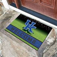 "University of Kentucky Crumb Rubber Door Mat 18""x30"""