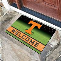 "University of Tennessee Crumb Rubber Door Mat 18""x30"""
