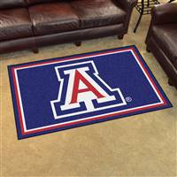 "University of Arizona 4x6 Rug 44""x71"""