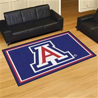 "University of Arizona 5x8 Rug 59.5""x88"""