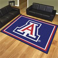 "University of Arizona 8x10 Rug 87""x117"""