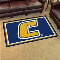 "University Tennessee Chattanooga 4x6 Rug 44""x71"""