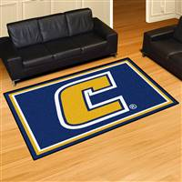 "University Tennessee Chattanooga 5x8 Rug 59.5""x88"""