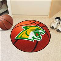 "Northern Michigan Wildcats Basketball Rug, 29"" Diameter"