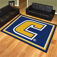 "University Tennessee Chattanooga 8x10 Rug 87""x117"""