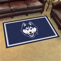 "University of Connecticut 4x6 Rug 44""x71"""