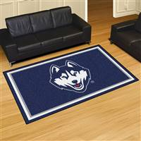"University of Connecticut 5x8 Rug 59.5""x88"""