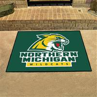 "Northern Michigan Wildcats All-Star Rug, 34"" x 45"""