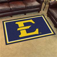 "East Tennessee State University 4x6 Rug 44""x71"""