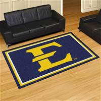 "East Tennessee State University 5x8 Rug 59.5""x88"""