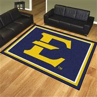 "East Tennessee State University 8x10 Rug 87""x117"""