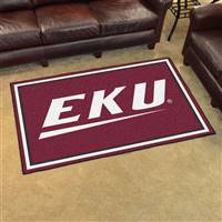 "Eastern Kentucky University 4x6 Rug 44""x71"""