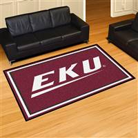 "Eastern Kentucky University 5x8 Rug 59.5""x88"""