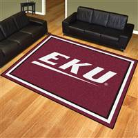 "Eastern Kentucky University 8x10 Rug 87""x117"""