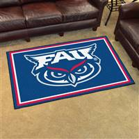 "Florida Atlantic University 4x6 Rug 44""x71"""