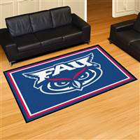 "Florida Atlantic University 5x8 Rug 59.5""x88"""