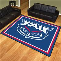 "Florida Atlantic University 8x10 Rug 87""x117"""