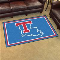 "Louisiana Tech University 4x6 Rug 44""x71"""