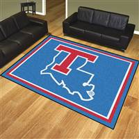 "Louisiana Tech University 8x10 Rug 87""x117"""