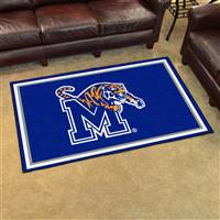"University of Memphis 4x6 Rug 44""x71"""