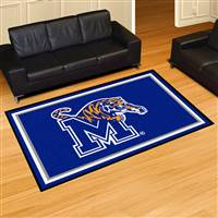 "University of Memphis 5x8 Rug 59.5""x88"""