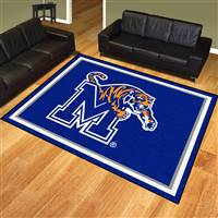 "University of Memphis 8x10 Rug 87""x117"""