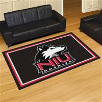 "Northern Illinois University 5x8 Rug 59.5""x88"""