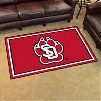 "University of South Dakota 4x6 Rug 44""x71"""