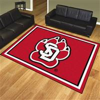 "University of South Dakota 8x10 Rug 87""x117"""