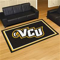 "Virginia Commonwealth University 5x8 Rug 59.5""x88"""