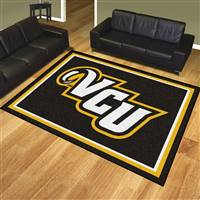 "Virginia Commonwealth University 8x10 Rug 87""x117"""