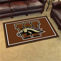 "Western Michigan University 4x6 Rug 44""x71"""