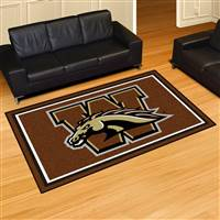 "Western Michigan University 5x8 Rug 59.5""x88"""
