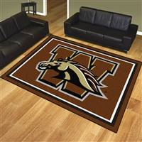"Western Michigan University 8x10 Rug 87""x117"""