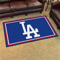 "Los Angeles Dodgers 4x6 Rug 44""x71"""