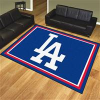 "Los Angeles Dodgers 8x10 Rug 87""x117"""