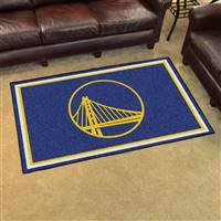 "NBA - Golden State Warriors 4x6 Rug 44""x71"""