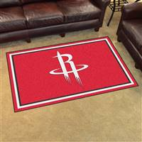 "NBA - Houston Rockets 4x6 Rug 44""x71"""