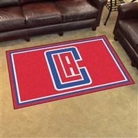 "NBA - Los Angeles Clippers 4x6 Rug 44""x71"""