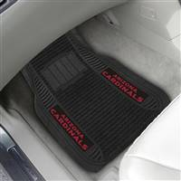 "NFL - Arizona Cardinals 2-pc Deluxe Car Mat Set 21""x27"""