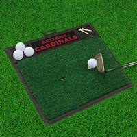 "NFL - Arizona Cardinals Golf Hitting Mat 20"" x 17"""