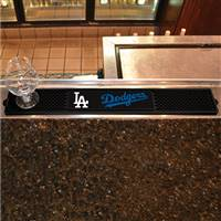 "Los Angeles Dodgers Drink Mat 3.25""x24"""