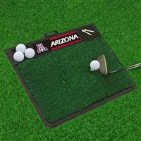 "University of Arizona Golf Hitting Mat 20"" x 17"""