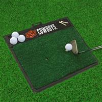"Oklahoma State University Golf Hitting Mat 20"" x 17"""