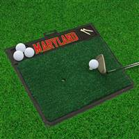 "University of Maryland Golf Hitting Mat 20"" x 17"""